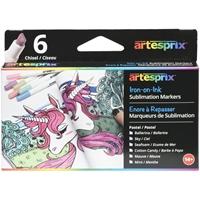 Εικόνα του Artesprix Iron-On-Ink Sublimation Μαρκαδόροι - Pastels