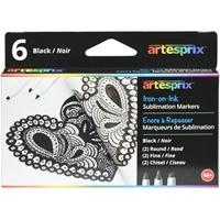 Εικόνα του Artesprix Iron-On-Ink Sublimation Μαρκαδόροι - Black