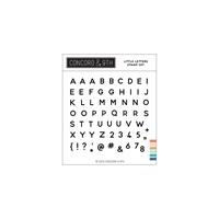 """Εικόνα του Concord & 9th Clear Stamps 4""""X4"""" - Little Letters"""