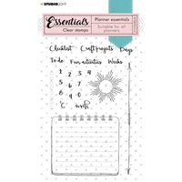 Εικόνα του Studio Light Essentials A6 Stamps - Planner