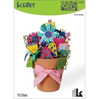 Εικόνα του i-Crafter Dies - Floral Garden