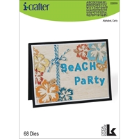 Εικόνα του i-Crafter Dies - Γραμματοσειρά Carly