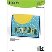 Εικόνα του i-Crafter Dies - Γραμματοσειρά Haley Outline