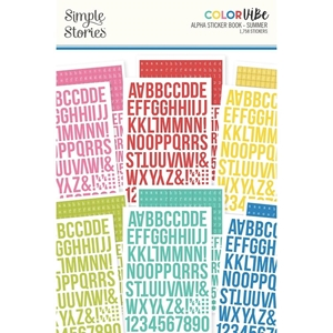 Picture of Simple Stories Color Vibe Alpha Μπλοκ με Αυτοκόλλητα - Summer
