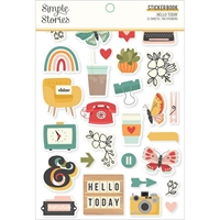 Εικόνα του Simple Stories Μπλοκ με Αυτοκόλλητα - Hello Today