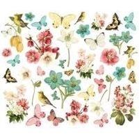 Εικόνα του Simple Stories Simple Vintage Cottage Fields Bits & Pieces Die-Cuts - Floral