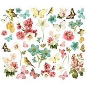 Picture of Simple Stories Simple Vintage Cottage Fields Bits & Pieces Die-Cuts - Floral