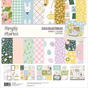 "Picture of Simple Stories Collection Kit 12""X12"" - Bunnies & Blooms"
