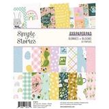 """Εικόνα του Simple Stories Double-Sided Paper Pad 6""""X8""""  - Bunnies & Blooms"""
