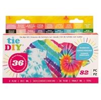 Εικόνα του American Crafts Medium Tie Dye Kit 18 Colors - Distressed 36 Projects