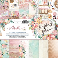 """Εικόνα του Asuka Studio Double-Sided Paper Pack 6""""X6"""" - Happy Place"""