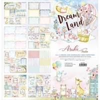 "Εικόνα του Asuka Studio Collection Pack 12""X12"" - Dreamland Journaling Cards"