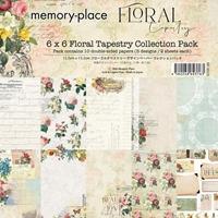 """Εικόνα του Memory Place Double-Sided Paper Pack 6""""X6"""" - Floral Tapestry"""