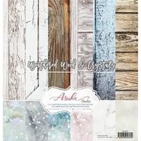 """Εικόνα του Asuka Studio Collection Pack 12""""X12"""" - Weathered Wood & Crystals"""