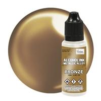 Εικόνα του Couture Creations Metallic Alloys Μελάνι Οινοπνεύματος 12ml - Bronze