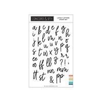 """Εικόνα του Concord & 9th Clear Stamps 4""""X6"""" - Lovely Letters Lowercase"""