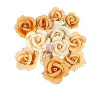 Εικόνα του Prima Marketing Diamond Χάρτινα Λουλούδια Mulberry - Rising Fire