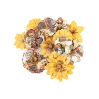 Εικόνα του Prima Marketing Diamond Χάρτινα Λουλούδια Mulberry - Colourful Beauty