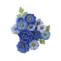 Εικόνα του Prima Marketing Nature Lover Χάρτινα Λουλούδια Mulberry – Blue River