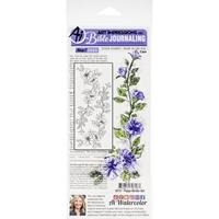 Εικόνα του Art Impressions Bible Journaling Clear Stamps - Poppy Border