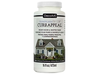 Εικόνα του DecoArt Americana Curb Appeal Paint 16oz - Farmhouse White
