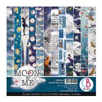 Εικόνα του Ciao Bella Double-Sided Paper Pack 6''x6'' - Moon & Me