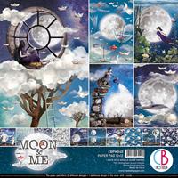 Εικόνα του Ciao Bella Double-Sided Paper Pack 12''x12'' - Moon & Me