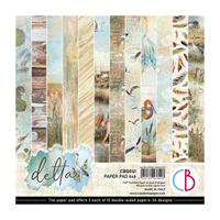 Εικόνα του Ciao Bella Double-Sided Paper Pack 6''x6'' - Delta
