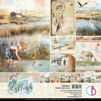 Εικόνα του Ciao Bella Double-Sided Paper Pack 12''x12'' - Delta