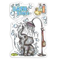 Εικόνα του Ciao Bella Clear Stamps 4''x6'' - It's Bath Time