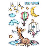 Εικόνα του Ciao Bella Clear Stamps 4''x6'' - Bedtime