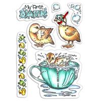 Εικόνα του Ciao Bella Clear Stamps 4''x6'' - My First Bath