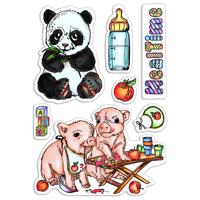 Εικόνα του Ciao Bella Clear Stamps 4''x6'' - Mealtime