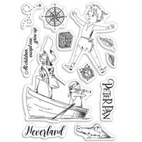 Εικόνα του Ciao Bella Clear Stamps 4''x6'' - Peter Pan