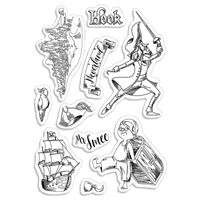 Εικόνα του Ciao Bella Clear Stamps 4''x6'' - Hook & Mr. Smee