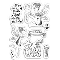 Εικόνα του Ciao Bella Clear Stamps 4''x6'' - Tinker Bell & The Lost Boys