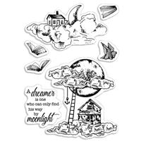 Εικόνα του Ciao Bella Clear Stamps 4''x6'' - Moonlight