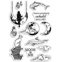Εικόνα του Ciao Bella Clear Stamps 4''x6'' - Enchanted Night