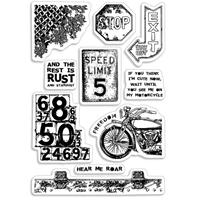 Εικόνα του Ciao Bella Clear Stamps 4''x6'' - Speed Limit