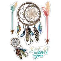 Εικόνα του Ciao Bella Clear Stamps 4''x6'' - Keep the Wild in You