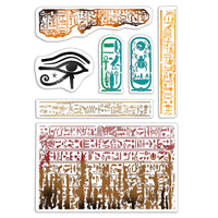 Εικόνα του Ciao Bella Bad Girls Clear Stamps 4''x6'' - Walk Like An Egyptian