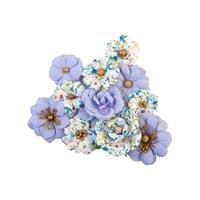 Εικόνα του Prima Marketing Watercolor Floral Χάρτινα Λουλούδια Mulberry - Blank Canvas