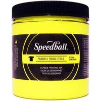Εικόνα του Speedball Fabric Screen Printing Ink Fluorescent 8oz - Μελάνι Μεταξοτυπίας Yellow