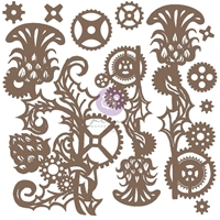 Εικόνα του Finnabair Decorative Chipboard - Mechanical Thistle