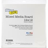 Εικόνα του Crafter's Workshop Mixed Media Board  Καρτολίνο - 30.5 x 30.5 cm