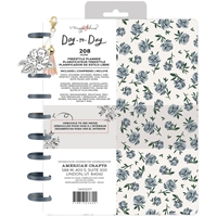 "Εικόνα του Maggie Holmes Day-To-Day Undated Freestyle Planner 7.5""X9.5"" - Blue Floral"