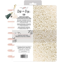 "Εικόνα του Maggie Holmes Day-To-Day Undated Freestyle Planner 7.5""X9.5"" - Gold Floral"
