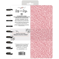 "Εικόνα του Maggie Holmes Day-To-Day Undated Dashboard Planner 7.5""X9.5"" - Pink Vines"