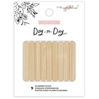 "Εικόνα του Maggie Holmes Day-To-Day Planner Discs 1.75"" - Wood"