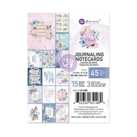"Εικόνα του Prima Marketing Watercolor Floral Journaling Cards 3""X4"""